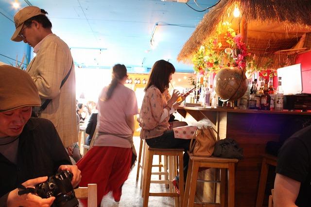 高円寺、「Fucca Fucca (フッカフッカ)」の店内。実は前行った時に撮影したもの。