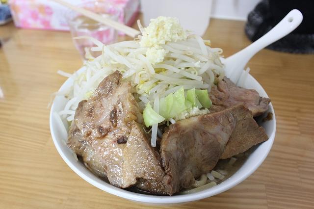 仙台市、「たいやき本舗藤家」のラーメン大豚野菜ニンニクマシマシ