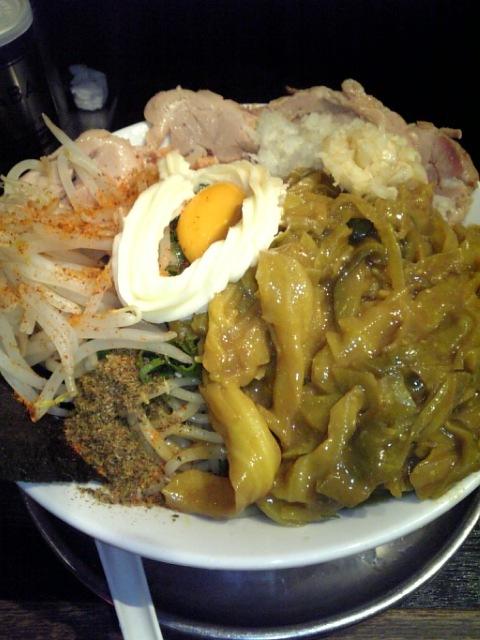 渋谷麺屋 梵天「よくわからないラーメン」