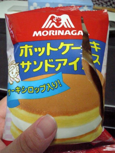 森永「ホットケーキアイス」