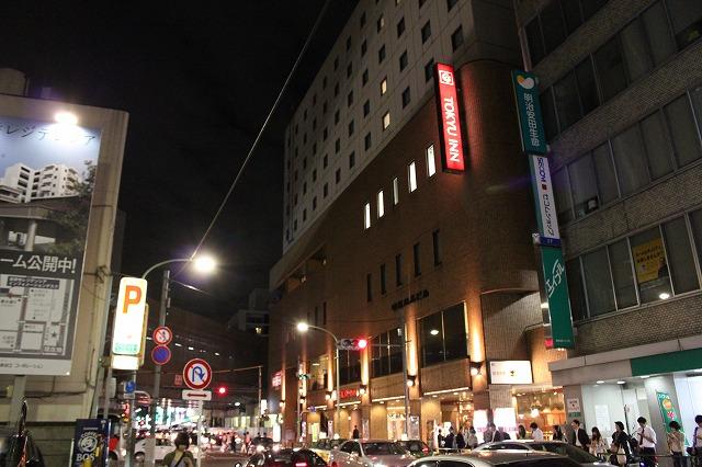 吉祥寺、「居酒屋革命」ホテル前
