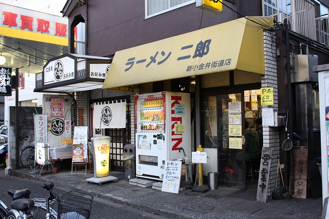小金井市、「ラーメン二郎 新小金井街道店」の小豚入りラーメン