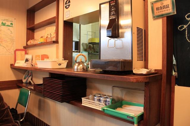 【武蔵野遺産】吉祥寺、「まるけん食堂」のお水