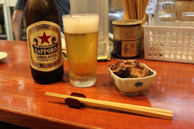 【ラー飲み】ラー飲み専用といっても過言ではない吉祥寺のめん弥のビール