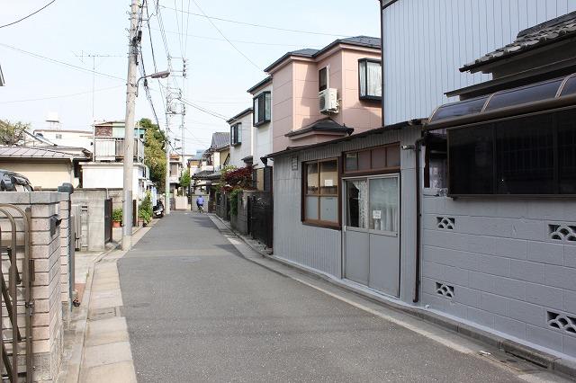 西新井大師、「もんじゃサクライ」のわかりづらい店構え