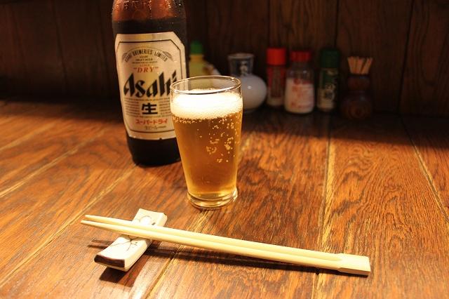 【西荻探訪】ここはすごいぞ!中身が濃いぞ!の珍竹林のビールはアサヒ