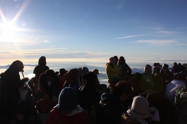 富士山を登ろう2010