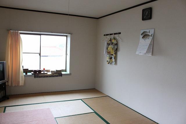 田代島海浜館のお部屋画像だよ