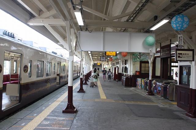 日光駅ホーム写真