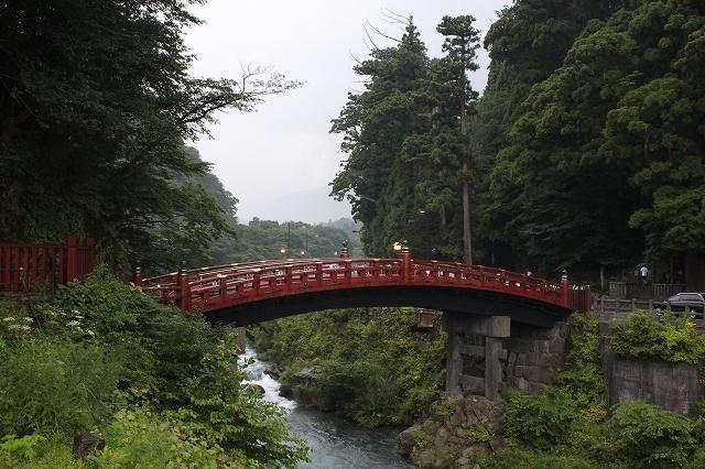 日光の神橋写真