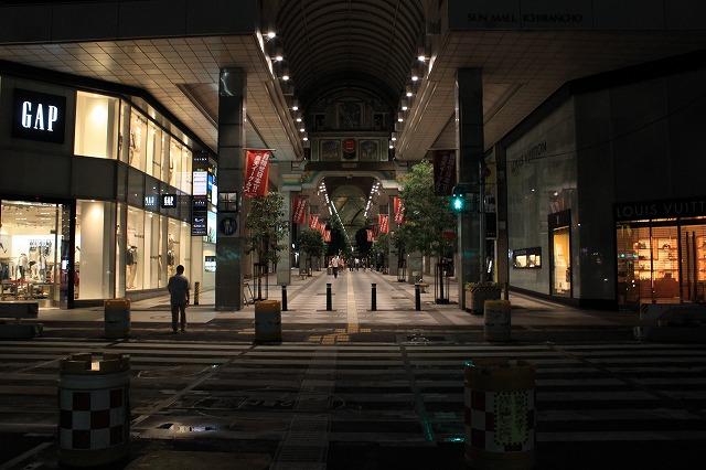 仙台を激写!「夜の商店街」