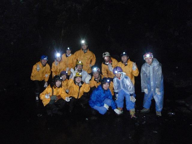 そうだ、富士樹海で洞窟探検しよう-パシャっとな