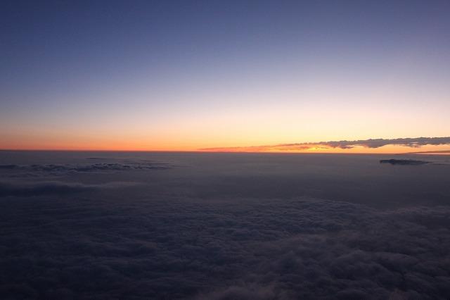 そうだ、富士山を登ろう-まもなく日の出