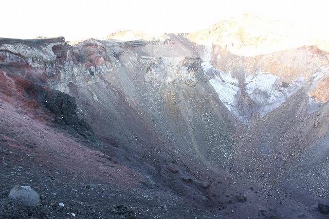 そうだ、富士山を登ろう-火口