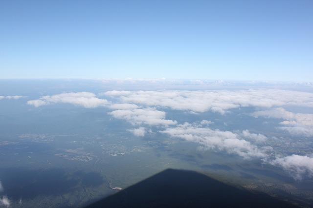 そうだ、富士山を登ろう-地上が遥か下