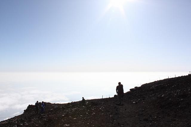 そうだ、富士山を登ろう-下山道へ