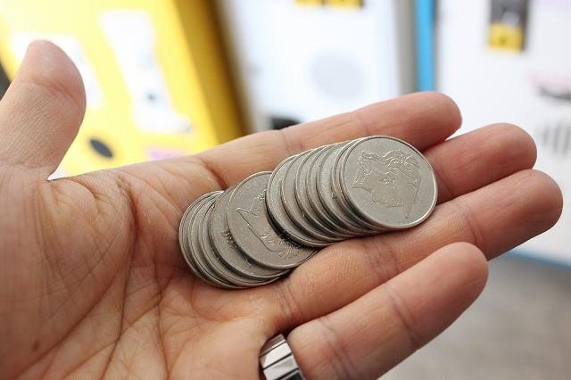板橋、「駄菓子屋ゲーム博物館」のコイン
