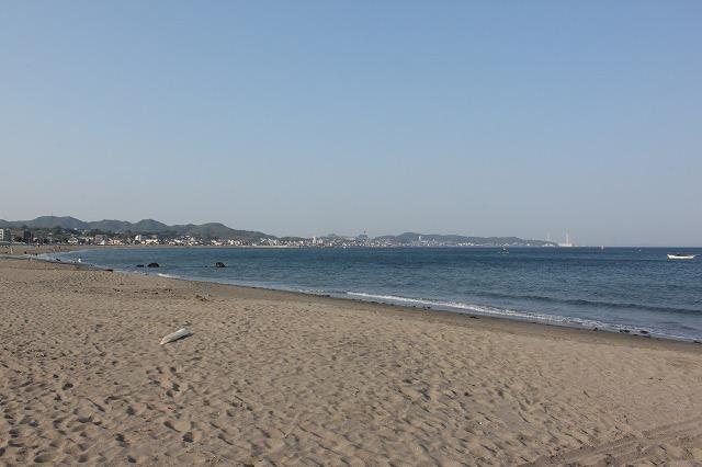 三浦海岸、「XJAPAN hideのお墓参り」きれいな風景