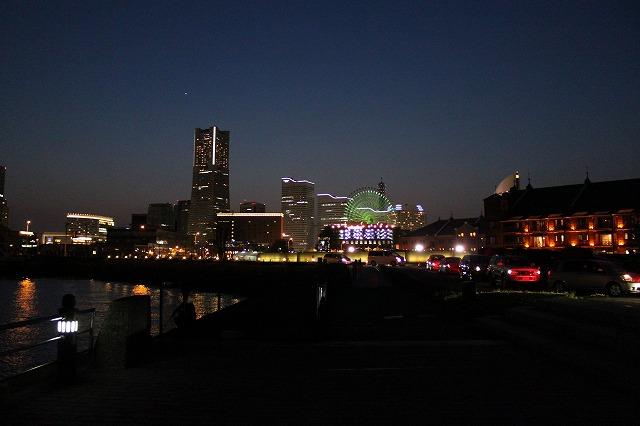 三浦海岸、「XJAPAN hideのお墓参り」横浜の夜景