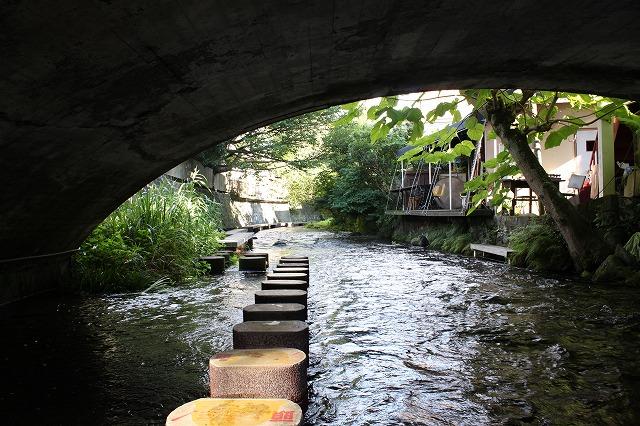 静岡県三島市のやたらきれいな川で川遊びしてきた。