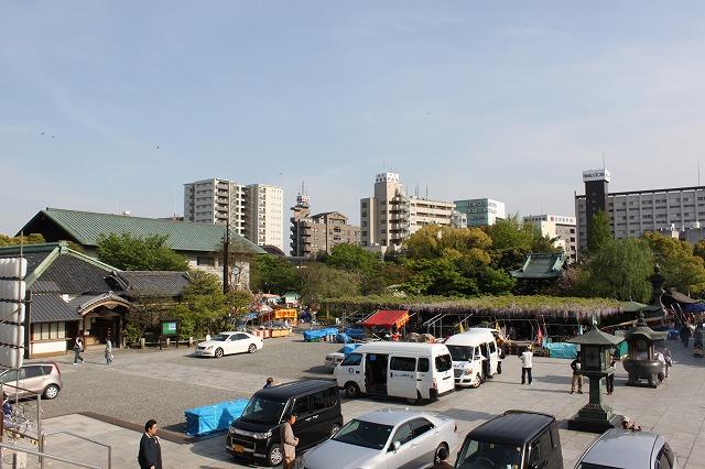 西新井大師、「駄菓子屋もんじゃ」に出会う旅、景観はいまいち